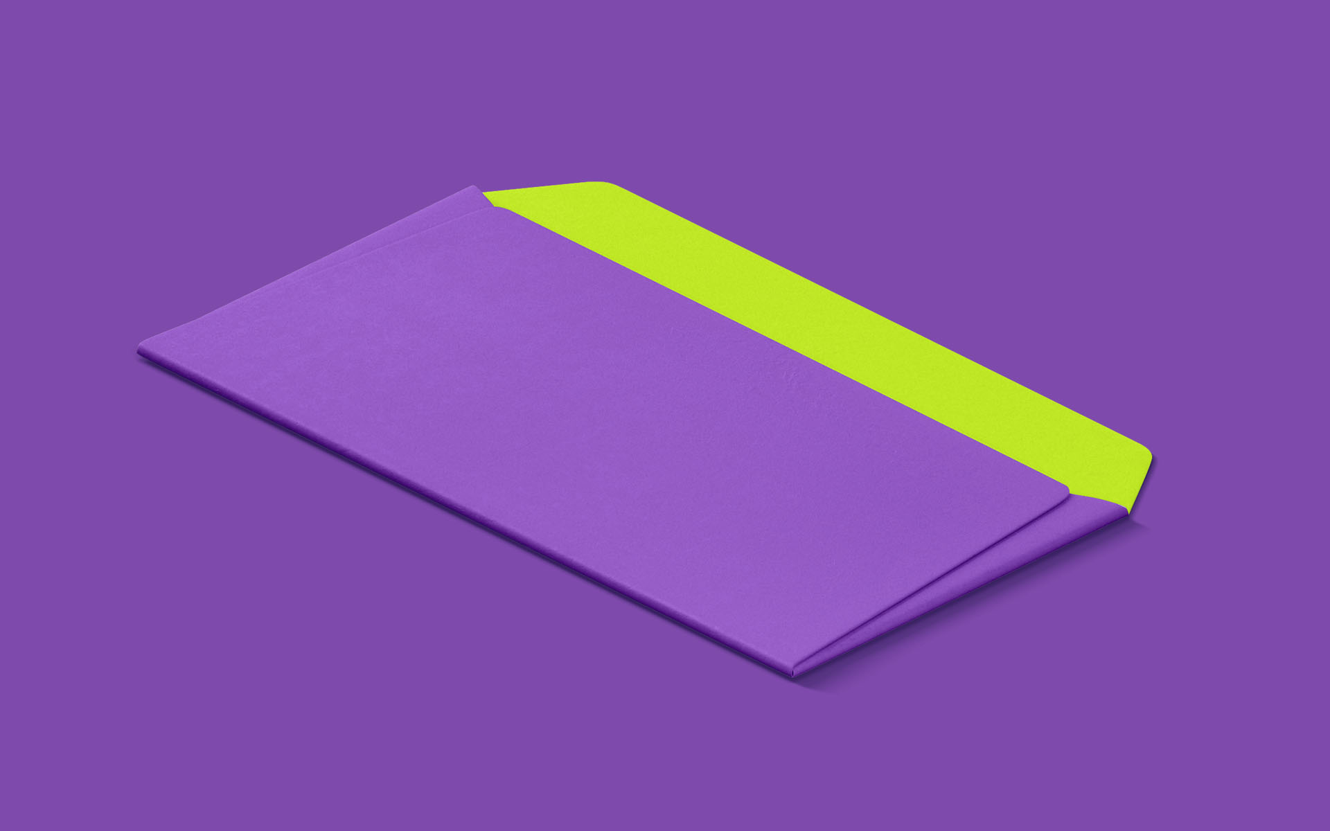 Purple Envelope