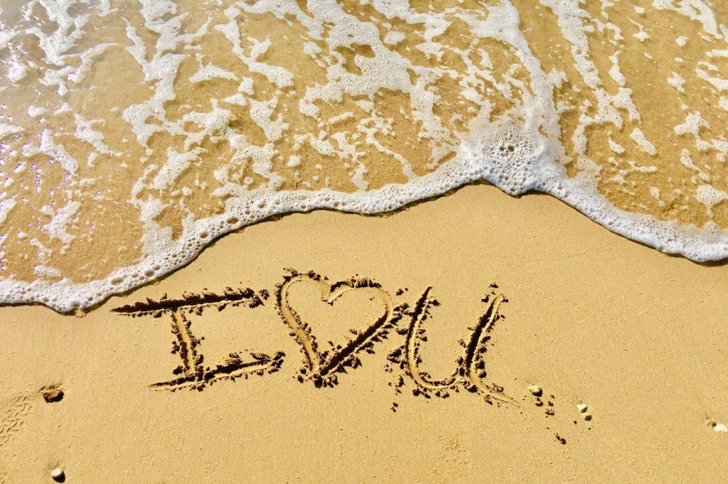 Ik houd van jou.