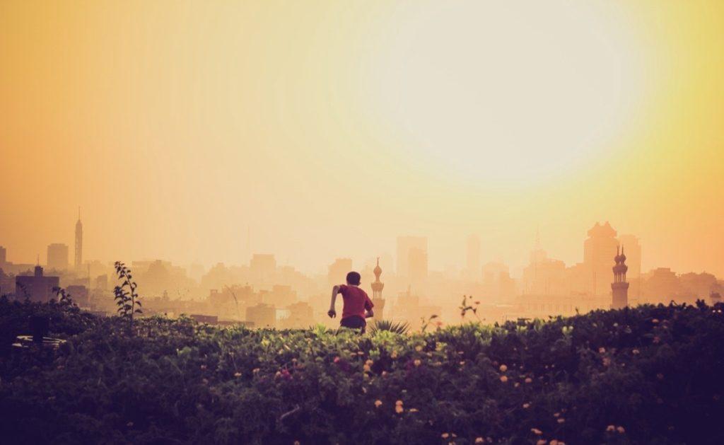 Op zoek naar bevrijdende gedachten.