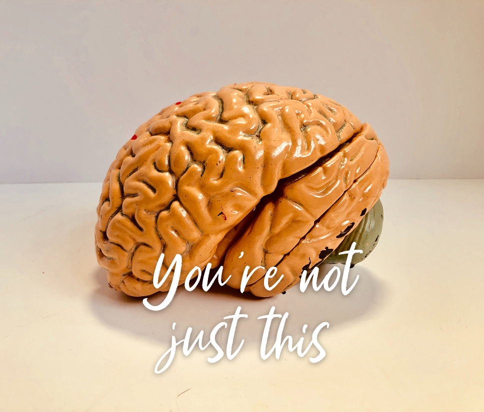 Not just a brain.